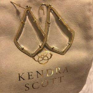 Kendra Scott Alexandra Earrings in Clear